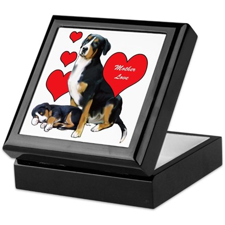 Swissie Mother Love Keepsake Box