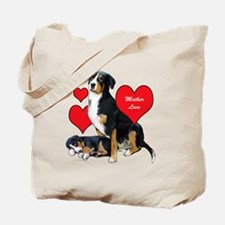 Swissie Mother Love Tote Bag