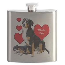 Swissie Mother Love Flask