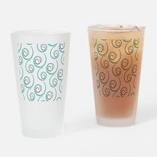 Spirals Drinking Glass