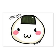 onigiri Postcards (Package of 8)