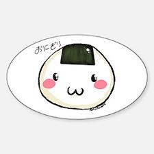 onigiri Oval Decal