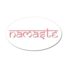 Namaste, Yoga Wall Decal