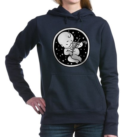 violin-womb-813-T Hooded Sweatshirt