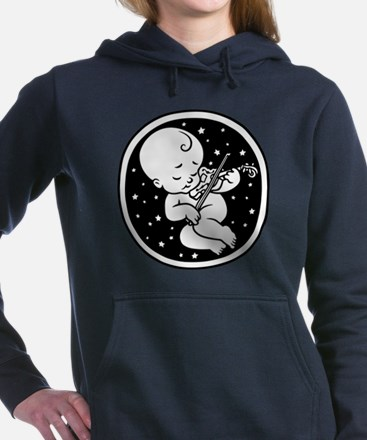 violin-womb-813-T Hooded Sweatshirt