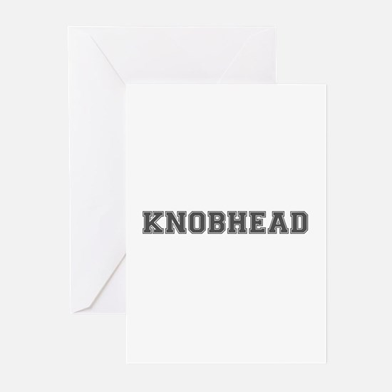 KNOBHEAD Greeting Cards