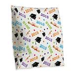 Class Of 2018 Gift Burlap Throw Pillow