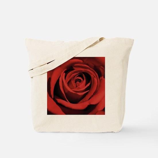 Lovers Red Rose Tote Bag