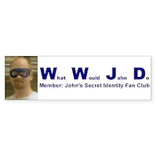 What Would John Do Bumper Bumper Sticker