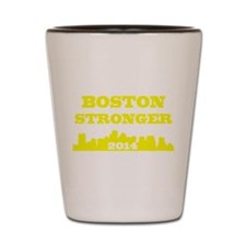 Boston Stronger Patriot Marathon Shot Glass
