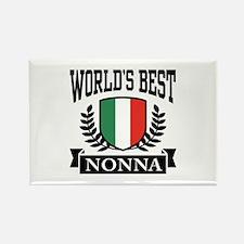 World's Best Nonna Rectangle Magnet