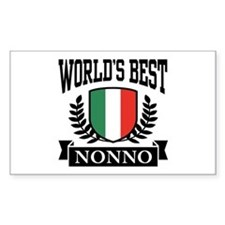 World's Best Nonno Decal