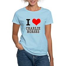 I Heart (Love) Charlie Horses T-Shirt
