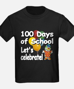 100th Day Clown BL T-Shirt