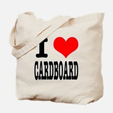 I Heart (Love) Cardboard Tote Bag