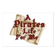 A Pirates Life For Me Postcards (Package of 8)