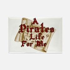 A Pirates Life For Me Rectangle Magnet