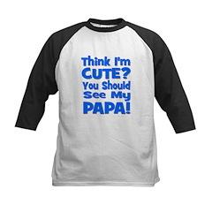 Think I'm Cute? Papa Blue Tee
