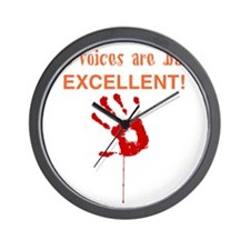The Voices are Back EXCELLENT! Wall Clock