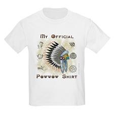 My Official Powwow Kids T-Shirt