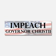 Unique Chris christie Car Magnet 10 x 3