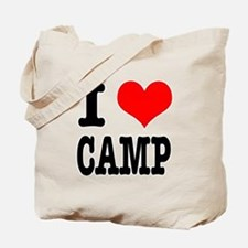 I Heart (Love) Camp Tote Bag