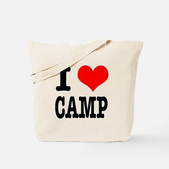 I Heart (Love) Camp Tote Bag