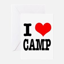 I Heart (Love) Camp Greeting Cards (Pk of 10)