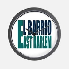 """Click Here"" East Harlem Logo Wall Clock"