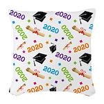 2020 Graduation Class Woven Throw Pillow