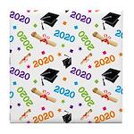 2020 Graduation Class Tile Coaster