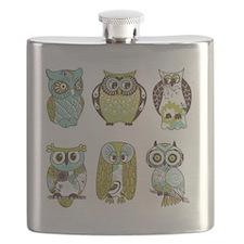 Owls Flask