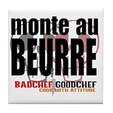 Monte au Beurre Tile Coaster