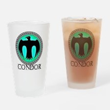 Condor Army Drinking Glass