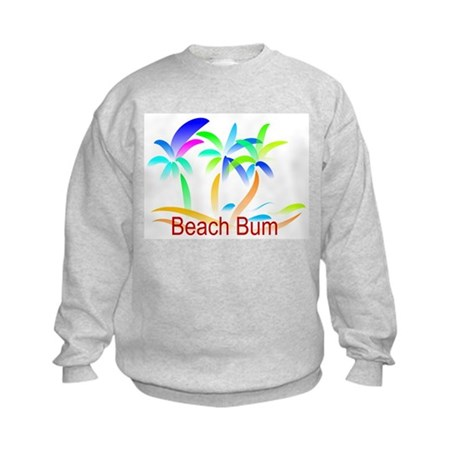 Beach Bum Kids Sweatshirt