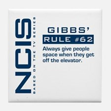 Gibbs' Rule #62 Tile Coaster