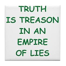 truth Tile Coaster
