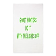 Ghost Hunters Do It 3'x5' Area Rug