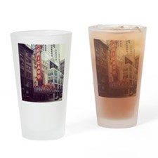 Chicago Theater  Drinking Glass