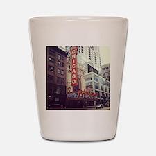 Chicago Theater  Shot Glass