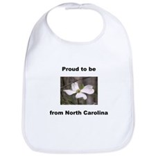 Cute Carolina flower Bib