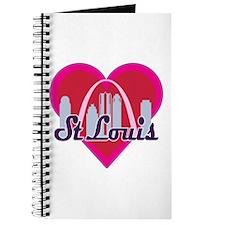St Louis Skyline Heart Journal