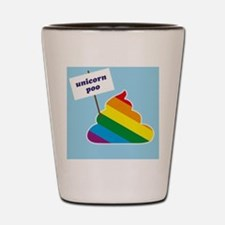 unicorn poo Shot Glass
