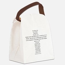 Love the Lord?  Wear the Prayer! Canvas Lunch Bag
