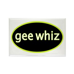 Gee whiz Rectangle Magnet (10 pack)