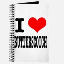 I Heart (Love) Butterscotch Journal