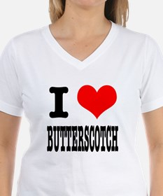 I Heart (Love) Butterscotch Shirt