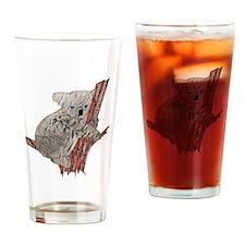 Kuddly Furry Koala Drinking Glass