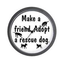 Adopt a Rescue Wall Clock