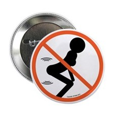 "No Twerk 2.25"" Button"
